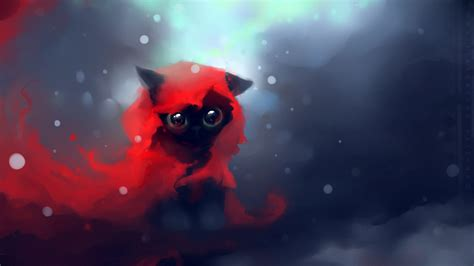 Anime Kitten Wallpaper - 1920x1080 wallpaper cat drawing apofiss from