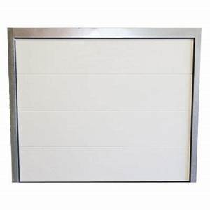 Porte De Garage 300 X 200 : porte de garage sectionnelle 240 x cm rome blanche ~ Edinachiropracticcenter.com Idées de Décoration