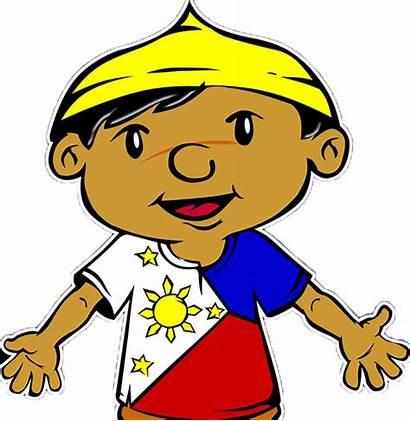Clipart Pinoy Juan Cruz Filipino Proud Moan