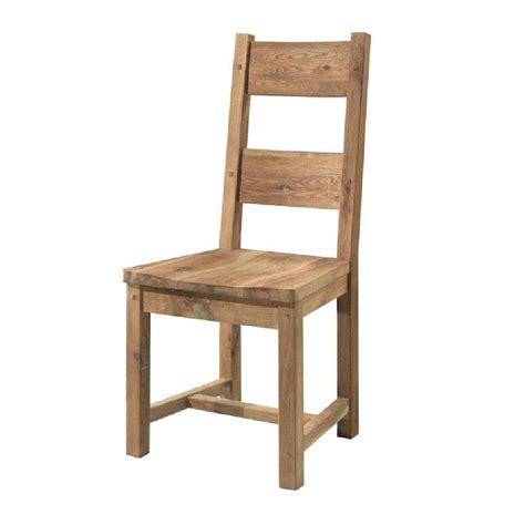 assise de chaise en bois chaise en chêne massif huilé assise bois