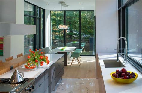 cuisine design luxe maison modulaire contemporaine à washington dc