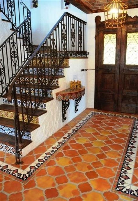 17 best ideas about mexican tile floors on
