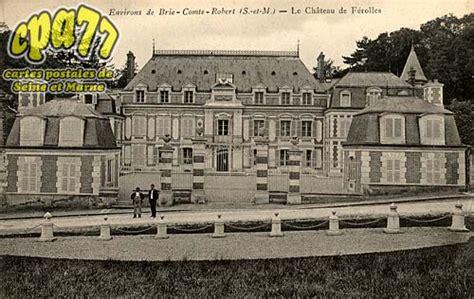La Vie Brie Comte Robert by Carte Postale Ancienne De Ferolles Attilly 77 Environs