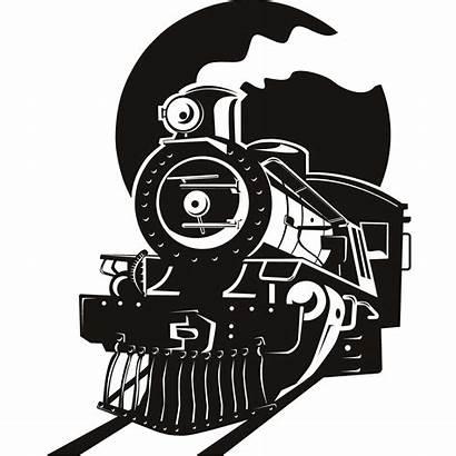 Train Steam Silhouette Clip Clipart Tattoo Drawing