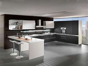 Küche U Form Mit Theke : u k chen modern mit theke ~ Michelbontemps.com Haus und Dekorationen