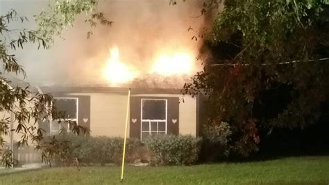 Firefighter Treated For Smoke Inhalation