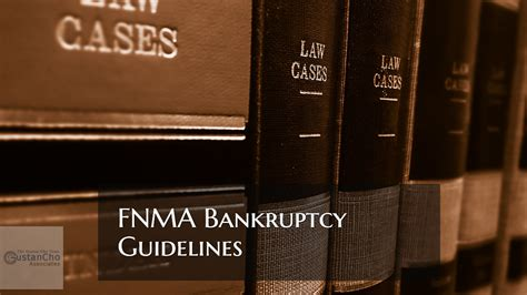 fnma bankruptcy guidelines  qualify  conventional loans