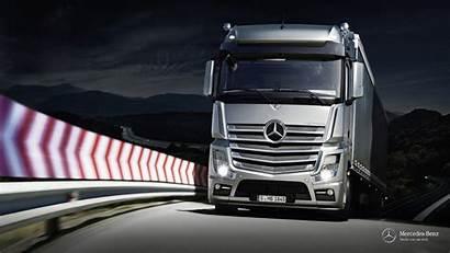 Mercedes Truck Wallpapers Actros Benz Trucks Wallpapersafari
