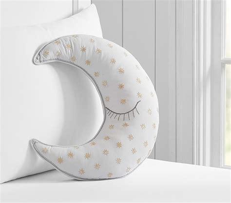 moon decorative pillow pottery barn kids