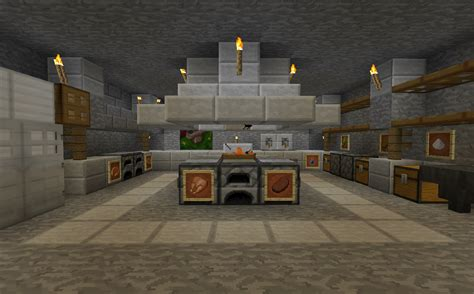 cuisine minecraft minecraft projects minecraft kitchen with functional food dispensers