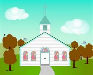 Fall Church Clip Art