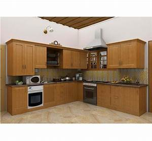 Simple Kitchen Design Hpd453 - Kitchen Design - Al Habib