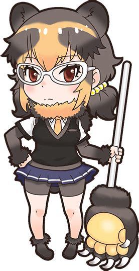 spectacled bearnexon game japari library  kemono friends wiki