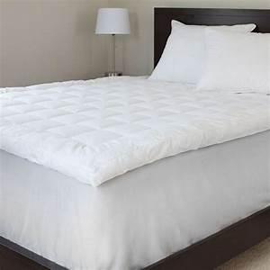 Lavish home full size 3 in down alternative mattress for Best full size mattress topper