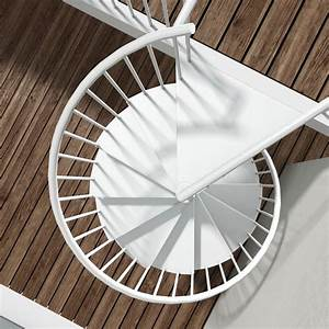 MTALIS Large Escalier Colimaon Rond En Mtal Pour L