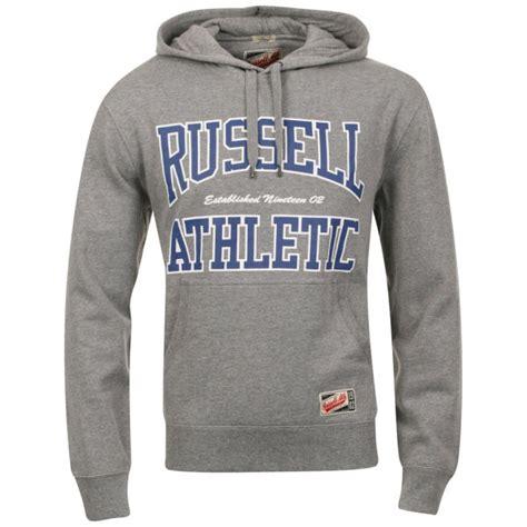 russell brand hoodies russell athletic men s coyne hoody grey sports leisure