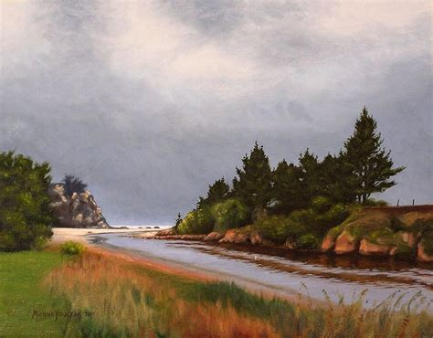 7 Best New Zealand Landscape Oil Paintings Images On
