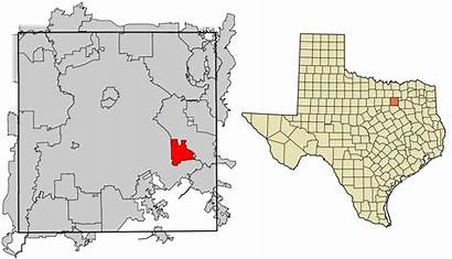 Balch Springs Texas Dallas County Wikipedia Svg