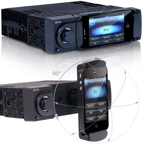 iphone car radio o car stereo system uses your iphone to its fullest ohgizmo