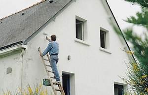 peinture exterieure facade comment repeindre votre With peindre une facade de maison