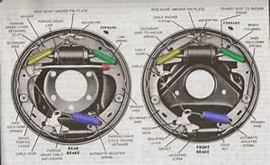 Front  U0026 Rear Brake Diagrams