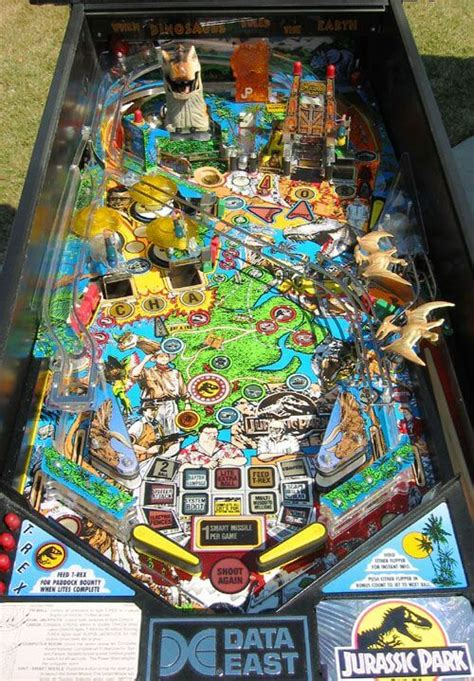 buy jurassic park pinball machine