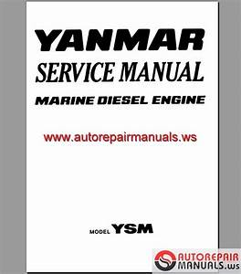 Engine Yanmar Ysm Service Manual