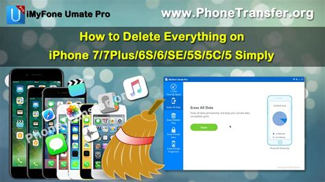 how to erase everything from iphone how to delete everything on iphone 7 7plus 6s 6 se 5s 5c 5