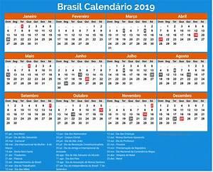 Calendário Brasil 2019 Com Feriados newspicturesxyz