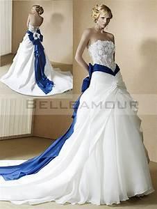 robe mariee dentelle bleue With robe de mariée bleu roi