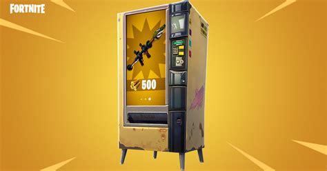 fortnite battle royales  vending machines