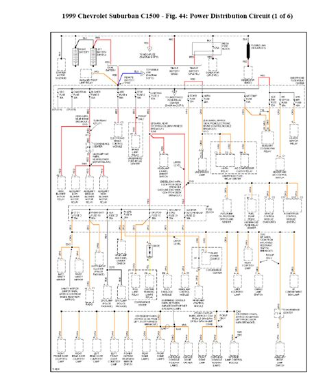 1999 Suburban Wiring Diagram by I Need A Wiring Diagram For A 1999 Suburban With A 5 7l