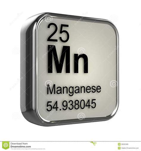 Manganese Protons by 3d Manganese Element Stock Illustration Image 39032489