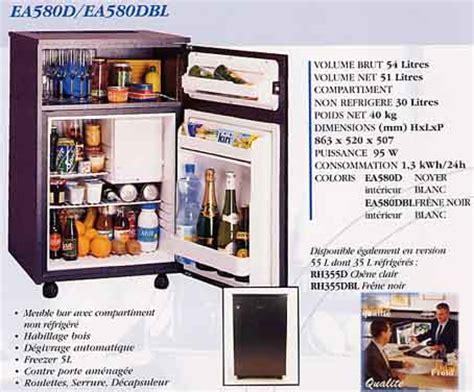 frigo de bureau cloison amovible