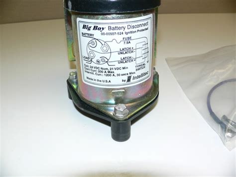 intellitec solenoid relay latching relay battery disconnect 200 24v