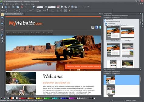 xara web designer xara web designer 7 premium review