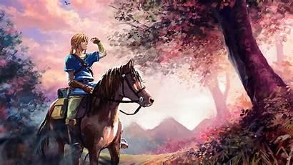 Breath Zelda Wild Legend Link Laovaan Desktop