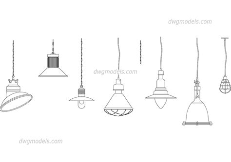 lighting loft cad blocks free autocad drawings