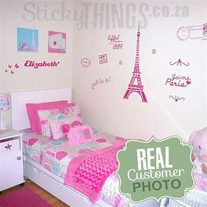paris wall decals roselawnlutheran With paris wall decals