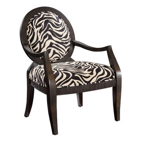 zebra print accent chair for the home