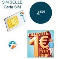 Nouvelles recharges carte prépayée chez Bouygues Telecom