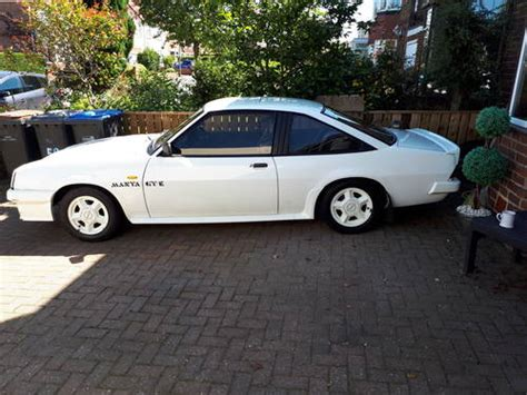 Opel Manta For Sale by Opel Manta Gte Coupe For Sale 1988 On Car And Classic Uk