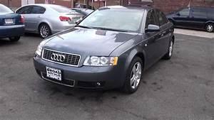 Audi A4 2003 : new jersey 2003 audi a4 3 0 quattro b6 sedan youtube illinois liver ~ Medecine-chirurgie-esthetiques.com Avis de Voitures