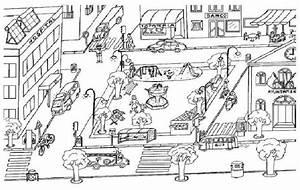 Dibujos De Ciudades Para Colorear E Imprimir
