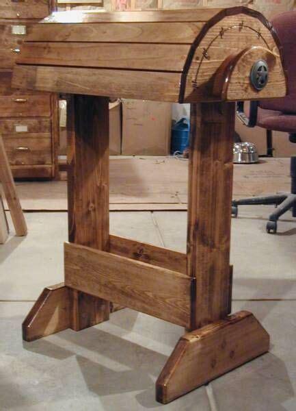 plans  build saddle stand design  plans