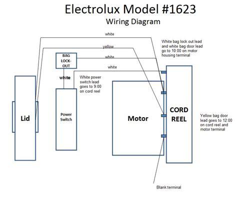Electrolux Vacuum Cleaner Wiring Diagram