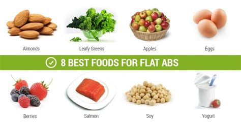 ab cuisine 8 best foods for flat abs apples eggs healthy fitness
