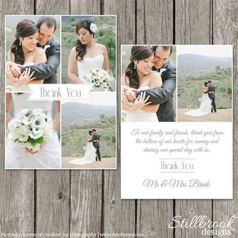wedding   card template bridesmaid photo
