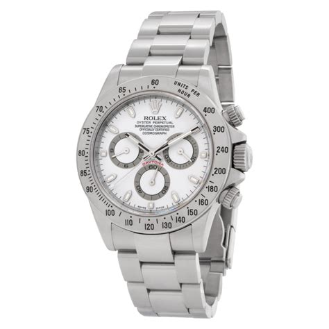 Pre-owned Rolex Daytona 116520 stainless steel 40mm auto ...