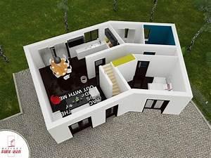 versiere maison en v a etage With faire sa maison en 3d 9 porte de garage ooreka